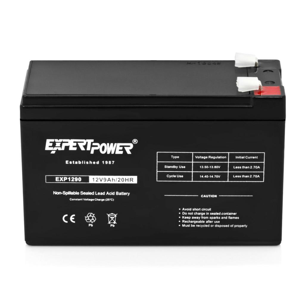Expert Power 12V 9Ah SLA Battery